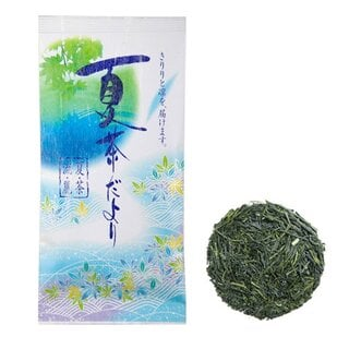 夏限定煎茶「夏茶だより」  美味しい日本茶・緑茶のお取り寄せ・通販専門店 新緑園 (9525)