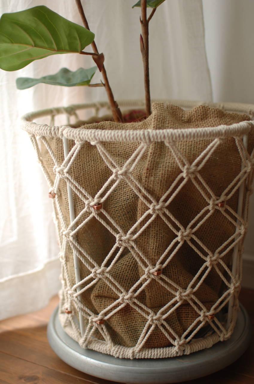 変幻自在なロープで作るプラントハンガー!おしゃれ便利雑貨をご紹介!【連載#一押しアイテム】