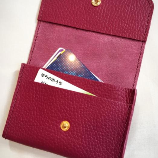 (受注作成)カードケース・名刺入れ♪ADRIA Dah...
