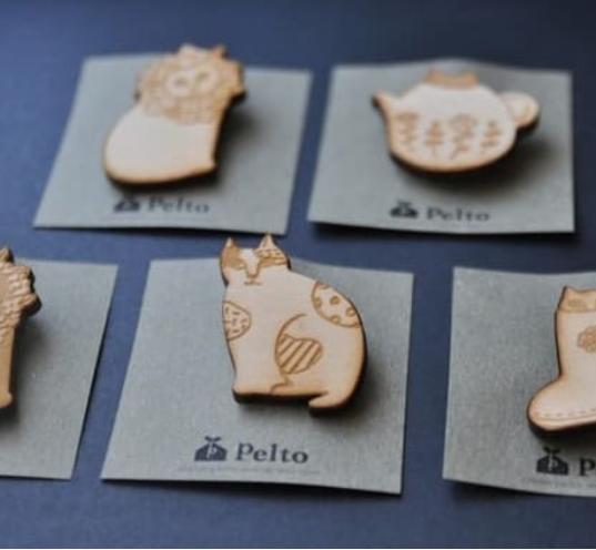 フィンランドで生まれたショップ、磁器・陶器のハンドメイド作家【pelto】さんをご紹介!