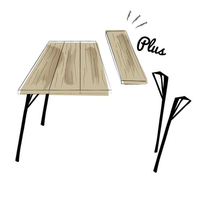 実はこのテーブルのサイズを変える時も…