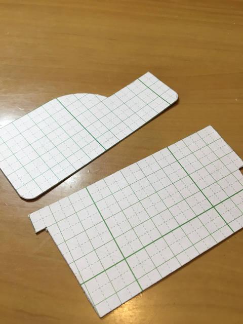工作用紙の型紙