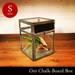【楽天市場】nkuku oni chalkboard box(S) オニチョークボードボックス Sサイズ ガラス コレクション ケース 小物入れ クリア 収納 アンティーク レトロ:asquisse