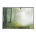 BJÖRKSTA アート フレーム付き, 森の小道, アルミカラー - 200x140 cm - IKEA