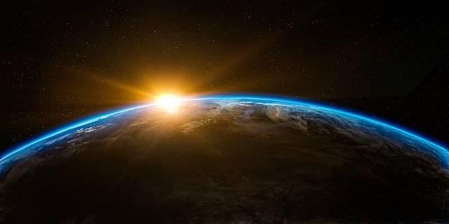 Free illustration: Sunrise, Space, Outer, Globe, World - Free Image on Pixabay - 1756274 (1495)
