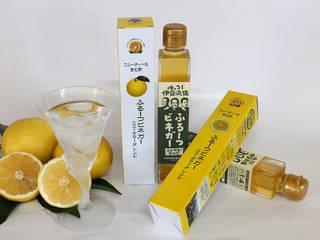 ポリフェノールを多く含んだぶどう酢と、ビタミン豊富な爽...