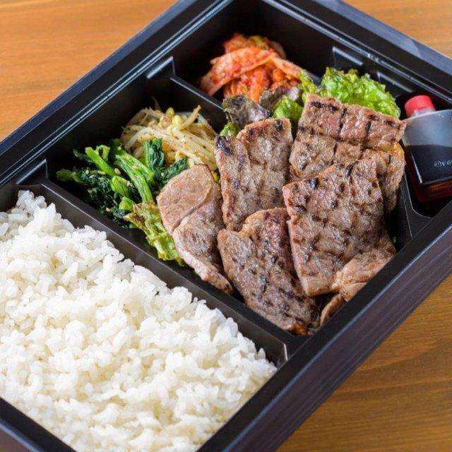 カイノミ弁当(1980円) カイノミはヒレに近い部位で...