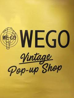12/23(土)WEGO Vintage Pop-up Shopがオープン!