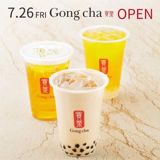 7/26(金) Gong cha(ゴンチャ)OPEN!!