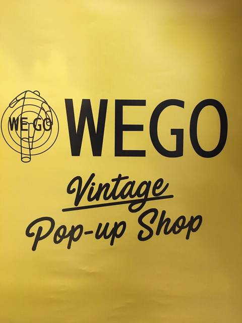 WEGO Vintage Pop-up Shop