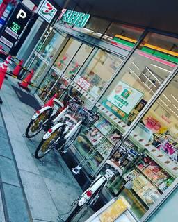 セブンイレブンで自転車レンタル!