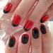 【赤黒ネイル】オトナな雰囲気を演出する個性派の赤黒ネイルデザインまとめ