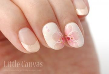 桜のグラデーション