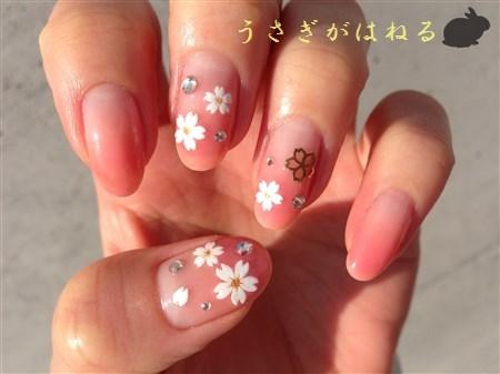 18.桜ネイル