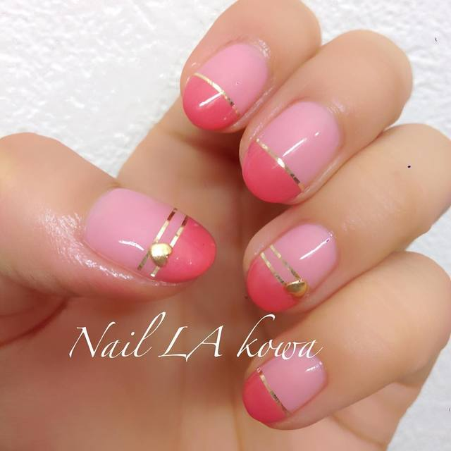 ピンクとピンクの新しい出会い!