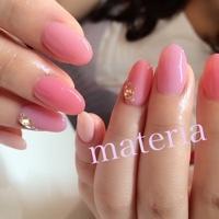 ピンクのワンカラー