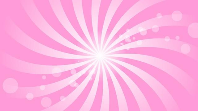 回転 ピンク色系 イラスト 壁紙 背景 イメージ|1920×1080ピクセルのフリー素材 (10732)