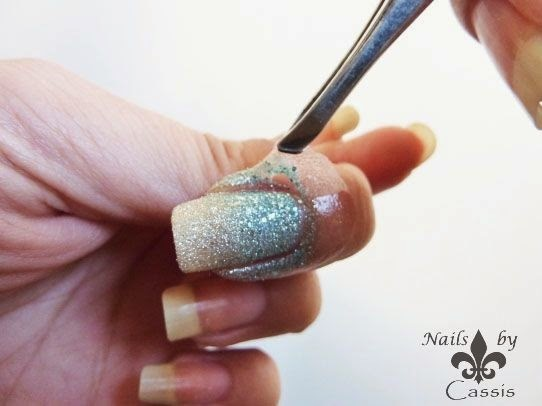 Playing around with PVA Glue - Nails by Cassis (14196)