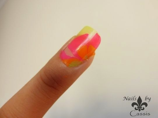 Playing around with PVA Glue - Nails by Cassis (14197)