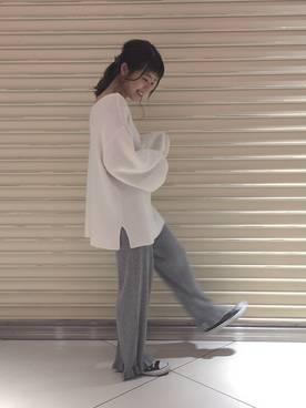 山本絵里加|Kastaneのニット/セーターを使ったコーディネート - WEAR (18812)