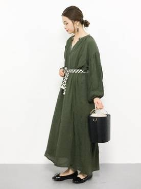 isa(ZOZOTOWN)|URBAN RESEARCH DOORS WOMENSのワンピースを使ったコーディネート - WEAR (18840)