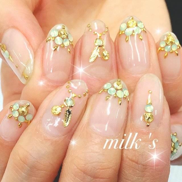 春/夏/女子会/リゾート/ハンド - milk's hiのネイルデザイン[No.2942745]|ネイルブック (20223)