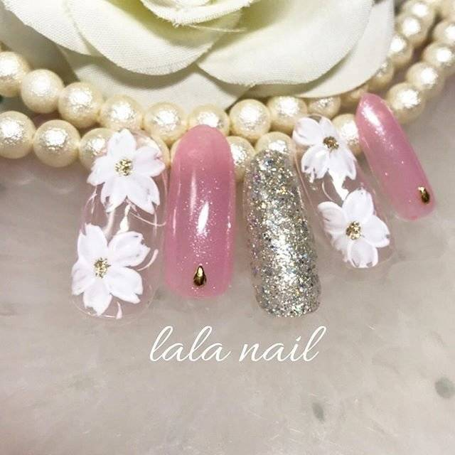 春/オールシーズン/女子会/入学式/ハンド - Lala nailのネイルデザイン[No.2973739]|ネイルブック (20306)