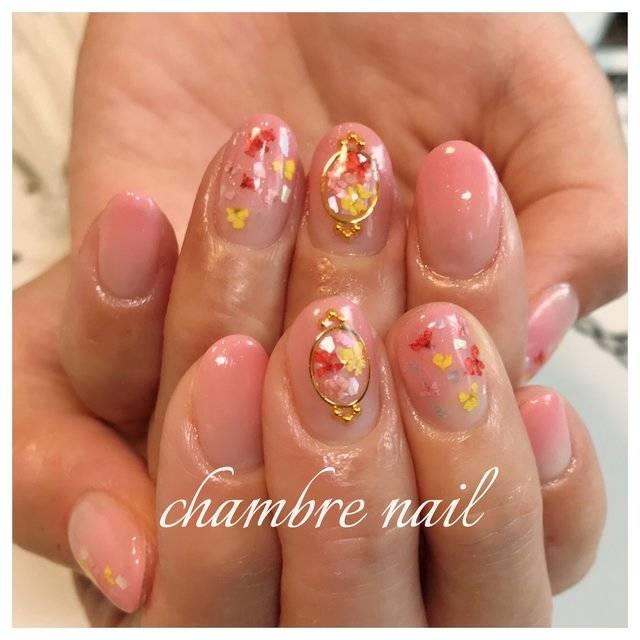春/オフィス/ブライダル/デート/ハンド - chambre nailのネイルデザイン[No.2975851]|ネイルブック (20307)