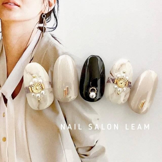 春/オールシーズン/デート/女子会/ハンド - nail  salon Leamのネイルデザイン[No.3068214]|ネイルブック (20709)