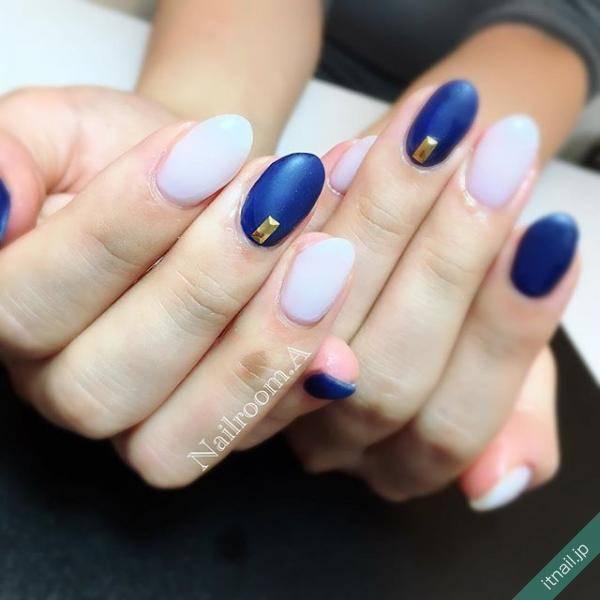 6.ホワイト×ブルー