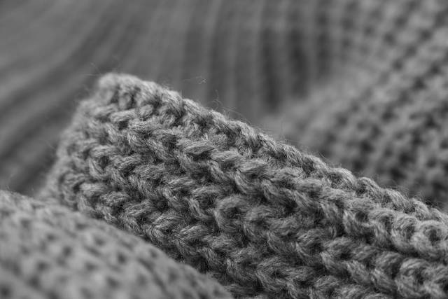 Gray Knitted Cloth · Free Stock Photo (30224)