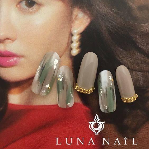 秋/冬/ライブ/オフィス/ハンド - luna_nail_133162のネイルデザイン[No.2629068]|ネイルブック in 2019 | ネイル | Nail designs, Nail Art, Beauty (34461)
