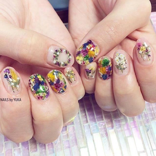 """nails-by-yuka on Instagram: """"【東京】3/1〜3/10、3/21〜4/7ご予約受付中てす🌸💅🏻・ご予約&お問い合わせ📨nailsbyyuka.tokyo@gmail.com🆔nailsbyyuka・#nailsbyyuka"""" (20216)"""