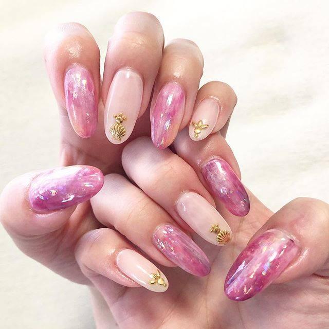 "miho/nail pictures on Instagram: ""#nail#nailart#naildesign#gelnails#pinknails#springnails#ネイル#ネイルアート#ネイルデザイン#ジェルネイル#ピンクネイル#春ネイル#ニュアンスネイル#ニュアンスアート#トレンドアート#💅"" (20338)"
