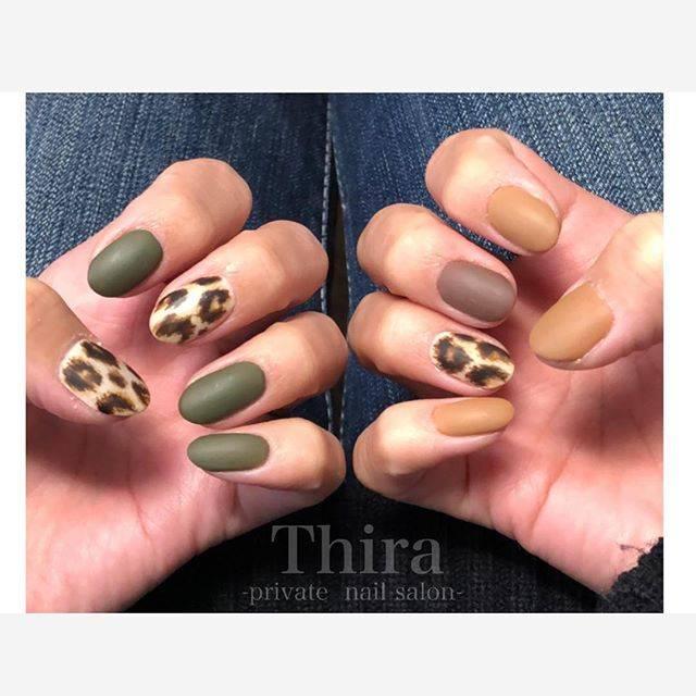 "Thira🌟private  nail salon on Instagram: ""、 my nail💗💗 大きめの #レオパードネイル 😆✨ 好評で嬉しいです〜😽🌟 、 家事育児をするためにここ数年は ギリギリまで短くしていますが 次回は久々に、、、💓 、 、 ______________________ . Thira -private nail…"" (22976)"