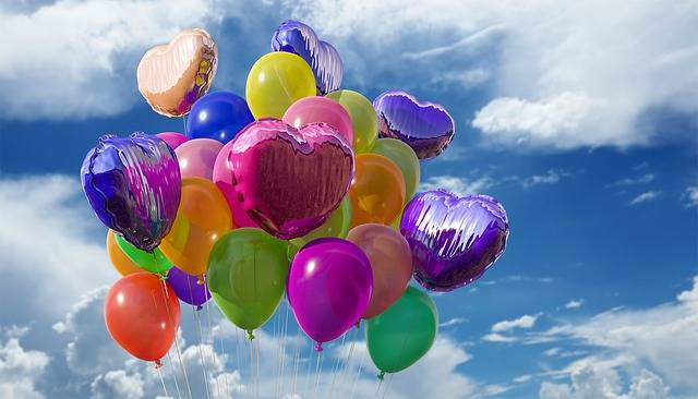Balloons Party Colors - Free photo on Pixabay (29084)