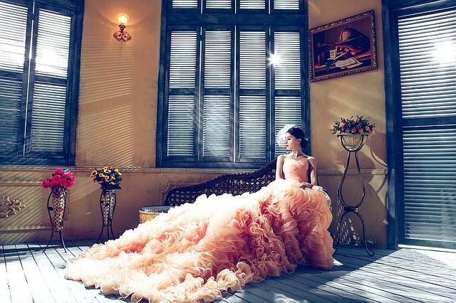 Wedding Dresses Bride Pink - Free photo on Pixabay (33957)
