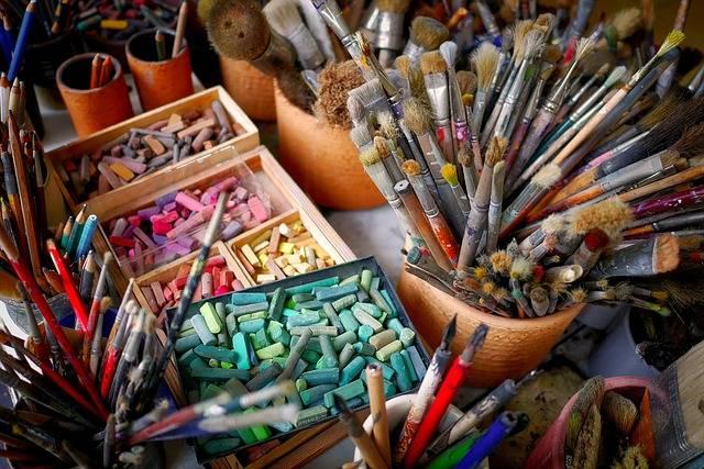 Brush Chalk Color - Free photo on Pixabay (37182)