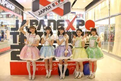 コピーグループも多数存在!タイで人気急上昇のわーすたが、JAPAN EXPO Thailand 2018に登場
