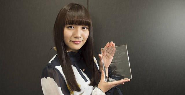 スパガ 浅川梨奈が『カバーガール大賞』の部門賞連覇の快挙を達成!総合順位では3位に!!