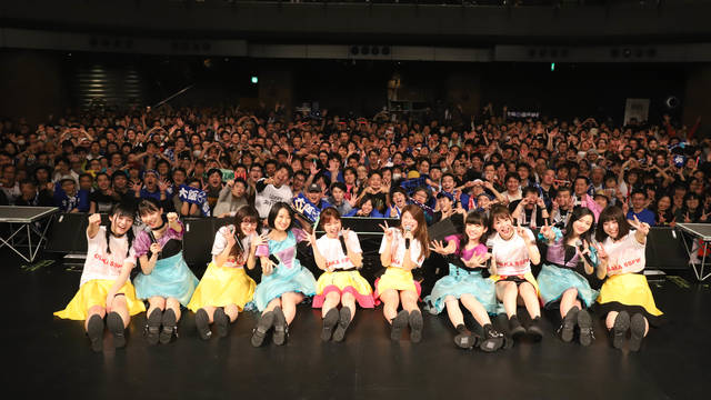 前代未聞の渋谷フリーライブ!大阪☆春夏秋冬+東京女子流の強力タッグ誕生!