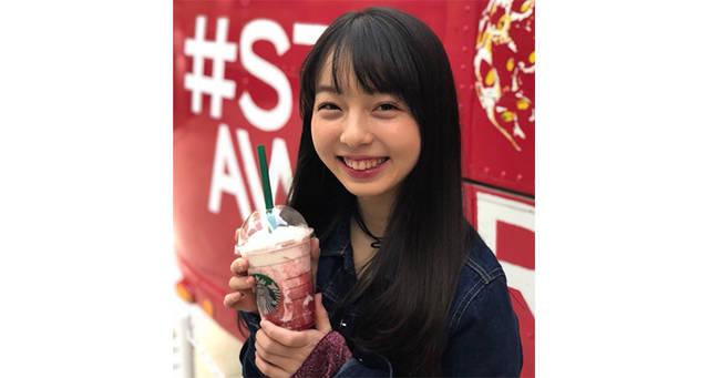イチゴすぎるスタバで撮影した西田ひらりが可愛すぎると話題!【イチゴ大使になって欲しい】と熱望するファンも!