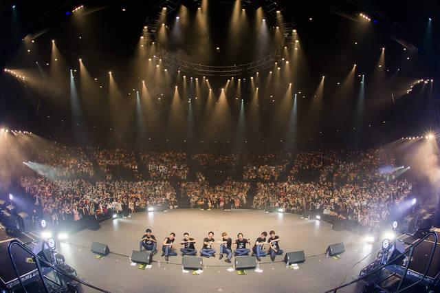 8人組男性ヴォーカルグループSOLIDEMO 舞浜アンフィシアターにて充実一途の4周年記念ライブ開催