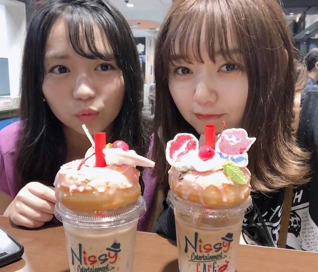 江野沢愛美と大原優乃の「最強姉妹デート」にファン歓喜