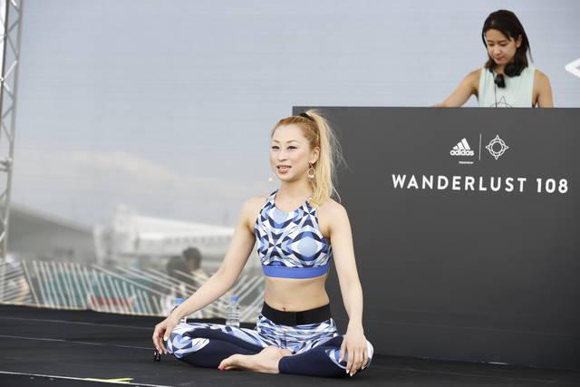 ayaが日本初上陸のウェルネスイベント「WANDERLUST 108 YOKOHAMA」に出演!