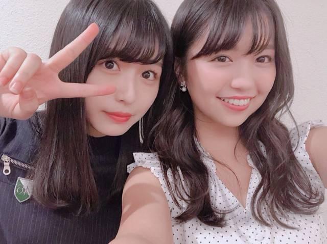 """大原優乃と長濱ねるの""""双子風""""2ショットに「似てる」「双子みたい」の声、現役アイドルからも反響"""