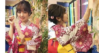 平成最後の七夕の日に武田舞彩が短冊へ込めた願いとは?キュートな浴衣姿に海外からも注目が!