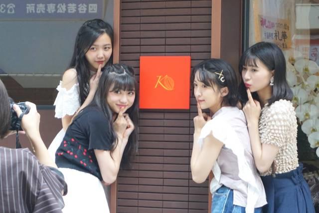 東京女子流の撮影現場に潜入☆ モデルを勤めたタウン誌「JG」本日発行!
