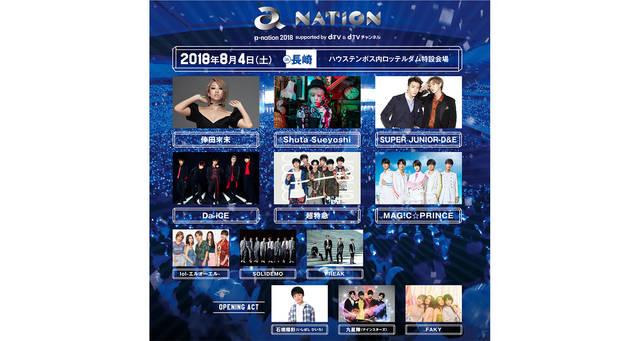 8月4日(土)「a-nation 2018」ハウステンボスにて開催。長崎公演のトップバッターは倖田來未に決定!