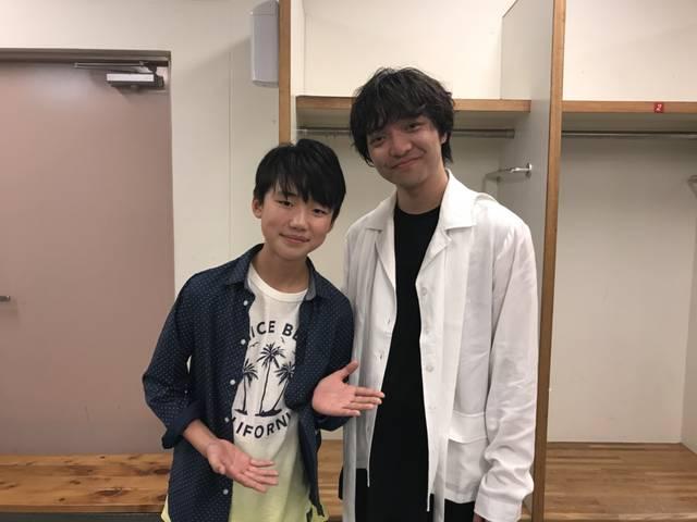 a-nation 2018でオープニングアクトを務めた石橋陽彩、憧れの三浦大知とツーショット